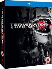 Terminator Quadrilogy Blu-ray Box Set 1 2 3 & 4 Arnold Schwarzenegger New Sealed