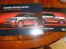RANGE Rover Sport Stomer Accessori Confezione da 2006 OPUSCOLO TESTO TEDESCO