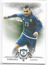 2016 Futera Unique Base Card (089) Carlos TEVEZ - Code is Unused