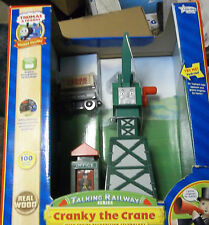 Thomas & Friends Wooden Talking Railway Cranky the Crane -RFID Train Destination