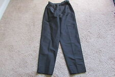 Excelled Black Genuine Leather Lined Pants Sz 18 NEW & Lovely!
