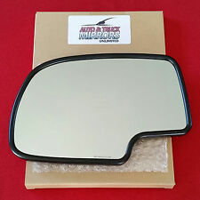 NEW MIRROR GLASS CHEVY GMC Driver Left Side HEATED WITH AUTO DIMMING DIM BACKING