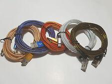 Cable USB tressé 2m micro USB - Livraison sans supplément dès le 2ème