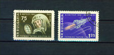 Bulgaria, 1961, Space, S.c.#C84-C85, 2 CTO stamps