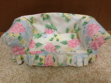 Barbie Doll 1998 Target Decor Collection Floral Sofa Couch Living Room Furniture