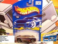 HOT WHEELS 2001 #104 -2 AUDI AVUS 01CA BROWN TAMPO MAL