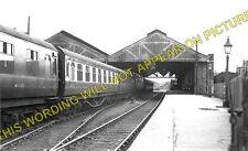 Lincoln St. Marks Railway Station Photo. Newark Line. Midland Railway