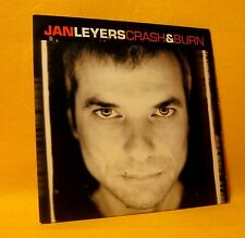 Cardsleeve Single CD Jan Leyers Crash & Burn 2TR 2003 Belpop Pop Rock Soulsister
