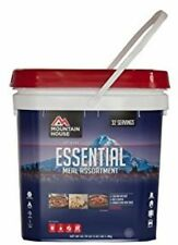 2 - Mountain House Essential Assortment Buckets- 24 Pouches - 64 Servings- Fresh