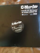 """C-Murder - Posted On The Block 12"""" Vinyl Record - 2006 - Hip Hop"""