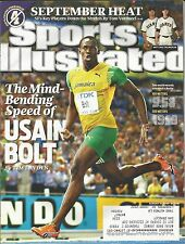 SUMMER OLYMPICS LEGEND USAIN BOLT 2009 SPORTS ILLUSTRATED FASTEST MAN ON EARTH