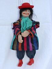 Marionette, Clown,   38 cm , Handpuppe,  handgefertigt