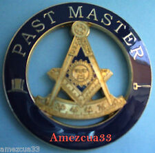 Freemason Past Master Masonic Auto Emblem FreeMasonry Car Decal  Lodge Mason