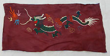 Antique Chinese Hand Embroidered Wall Hanging 40x80cm M104