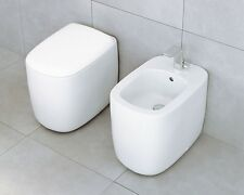 SANITARI FLAMINIA SERIE MONO' WC ART MN 117+ BIEDTART MN 217 MADE IN ITALY