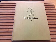 THE LITTLE PRINCE, Antoine de Saint Exupery (1943), 1ST/5TH PRINTING (Reynal)