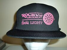 COORS LIGHT BEER MESH SNAPBACK Baseball Cap Trucker Hat Retro Rare Unique Lid Q