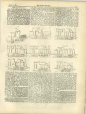 1877 Rack Rail Railways, Comparison Of Systems Gunpowder Piledriver