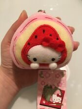 NWT Hello Kitty Gotochi Mochi Rice Cake plush doll mascot charm Sanrio Japan
