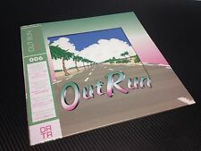 New! Out Run Remastered LP Colored Vinyl- Data Discs- DATA006 *Free Shipping*