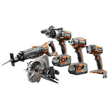 Ridgid GEN5X 18V 4.0 Ah Cordless Li-Ion Brushless 5-Pc Combo Kit ZRR9652 recon