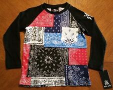 Red Ape Boys Graphic Longsleeve Shirt Size  6/L