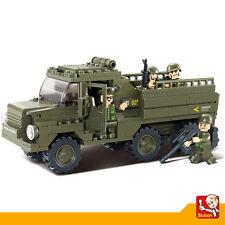 Juguete Educativo de Construccion SLUBAN Vehiculo Militar 230PZS - M38-B0301