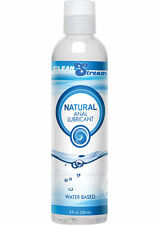 Clean Stream Natural Anal Lubricant Water Based Lube Comfort Smooth 8fl oz