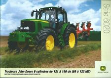 Farm Tractor Brochure - John Deere - 6020 series High HP - FRENCH c2004 (F4836)