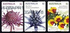 Australia 2015 Wildflowers Complete Set of Stamps  P Used S/A