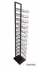Planet Racks 144 Cap Single Sided 12 Tier Baseball Hat Tower Display - Closeout