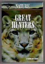 NATURE: GREAT HUNTERS (DVD, 2008  ~ 10 Hours on 6 Discs) - NEW