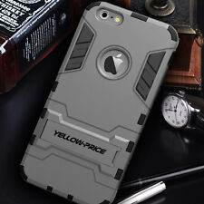 [2015 Release]iPhone 6 6S+ Plus Dural Slim Case Stand Armour Cover Shockproof