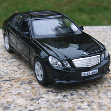 Car Model Mercedes-Benz E63 Alloy Diecast Black 5 Inche Two doors can open Toys
