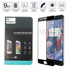 3D Curved Edge Full Cover Tempered Glass Screen Protector for Oneplus 3 3T Three