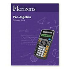 Aop Horizons Homeschooling 7th Grade Math 7 Student Book Pre-Algebra Workbook