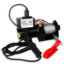 2000lb Pulling 12V Electric Winch 6000lb Rolling 5000lb Marine Trailer Winch