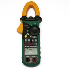 New MS2108S T-RMS AC DC clamp meter max backlight nrush compared w/ FLUKE