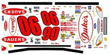 #90 Rick Mast Sauer's Ford 1/24th - 1/25th Scale Waterslide Decals