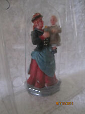 "TRAIN VILLAGE HOUSE  "" MOTHER & CHILD FIGURES  ACCESSORY "" + DEPT 56/LEMAX info!"