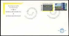 Netherlands 1986 Penal Code, Height Gauging Marks FDC First Day Cover #C27880