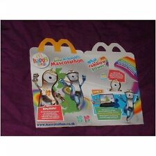 U.K McDonalds happy meal empty box London 2012 Olympics (used)