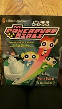 """Power Puff Girls - Story Book - """"Big Terrible Trouble"""""""