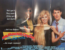 Kristy Swanson MANNEQUIN ON THE MOVE(1991) Original movie poster