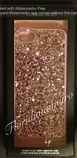 New Victoria's Secret iPhone 5/5S/5C Case Pink Glitter Bling Mirror Card Holder