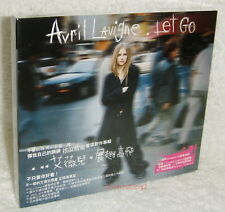 Avril Lavigne Let go Taiwan CD w/BOX (Enhanced Complicated video)