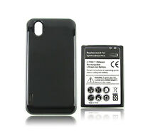 3500mah Extended Rechargeable Battery + Back Case For LG Optimus Black P970