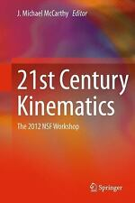 NEW - 21st Century Kinematics: The 2012 NSF Workshop
