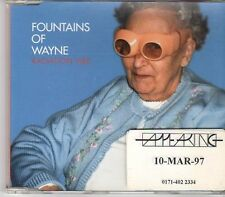 (EK710) Fountains Of Wayne, Radiation Vibe - 1997 DJ CD