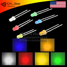 6colors 120pcs 3mm LED Diodes Diffused White Red Green Blue Orange Mix Kits